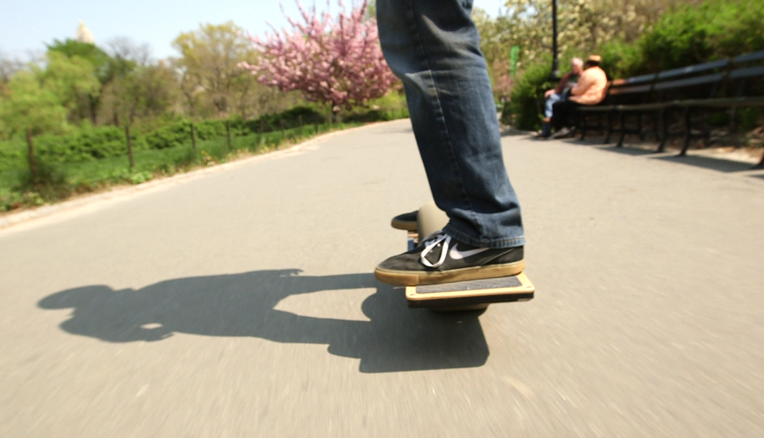 how to build a one wheel skateboard