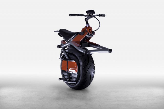 The Wonderfully Weird World of One-Wheel Motorcycles