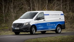 electric van - Mercedes Benz Evito