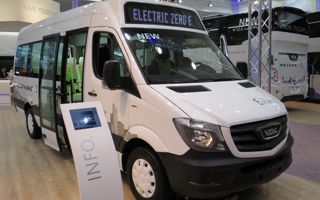 The Electric Van Driving You Into the Future