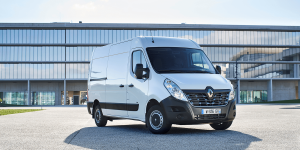electric van - The Renault Master ZE