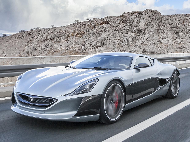 electric supercar  -Rimac Concept One