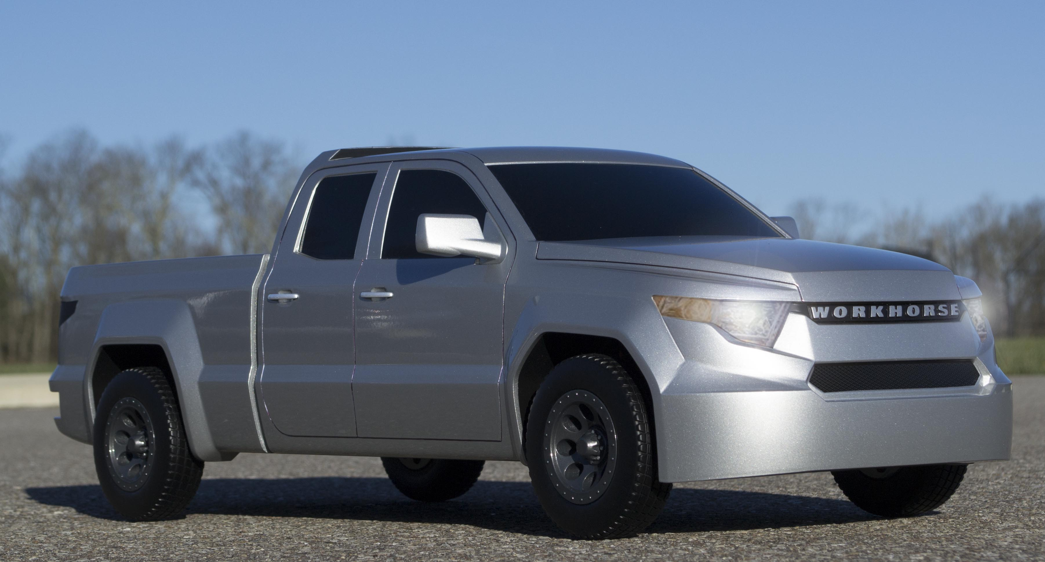 electric pickup truck - W-15-Pickup-Truck