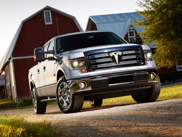 electric pickup truck - could-tesla-motors-build-a-pickup-truck_100445790_m