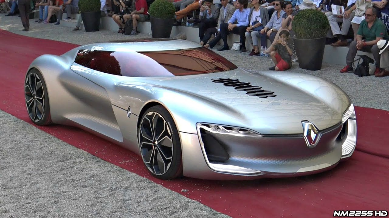 electric supercar - Renault Trezor