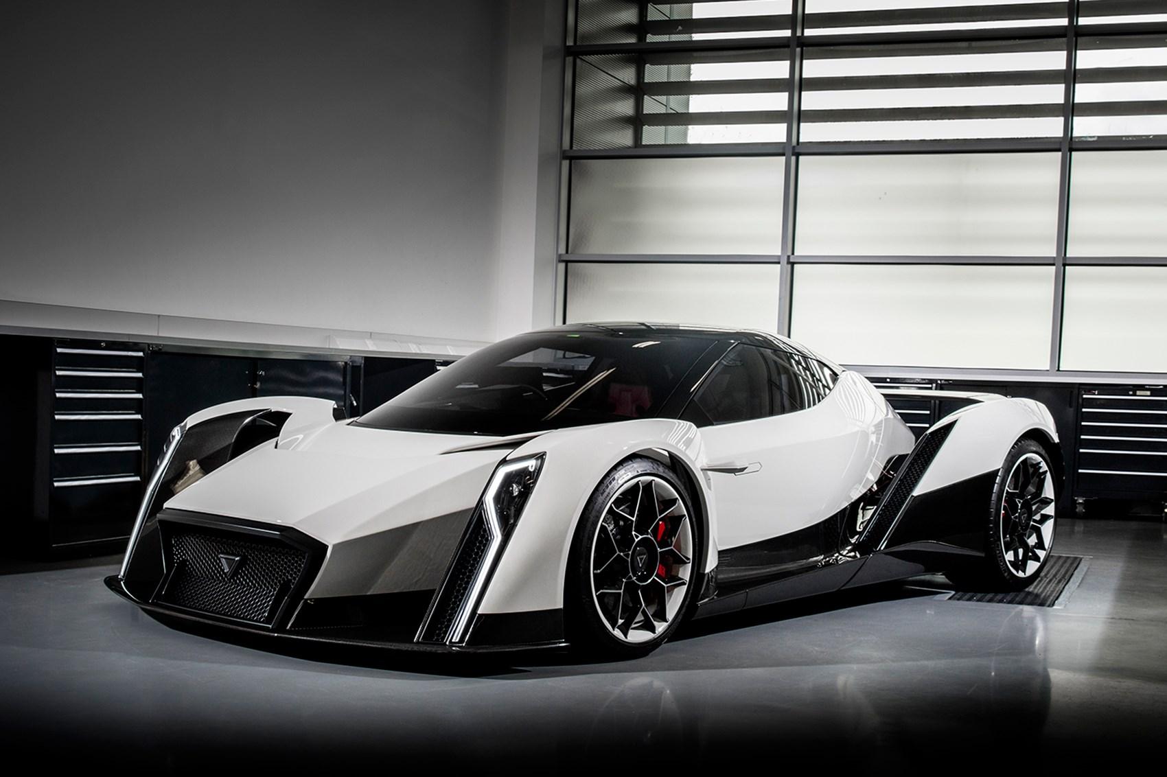 electric supercar - anda Dendrobium